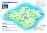 Isle of Wight cycle map